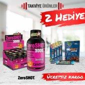 ZeroShot L-Carnitine 3000 mg  x 12 Ampul Karnitin + 2 Hediye