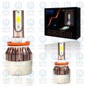 Stark H10 (H8 H9 H11 Uyumlu) Led Xenon Far Ampul Beyaz Işık