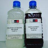 Epoksibella Sıvı Plastik 5 Dakikada Donar