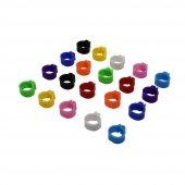 Yopigo Güvercin Ayak Klipsi 6 Adet Pakette Renk Seçenekli