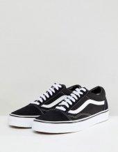 New Skool Klasik Siyah Stil Ayakkabı