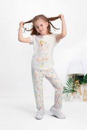 Pierre Cardin Krem Kız Çocuk Pijama Takımı Pc7539 C V1