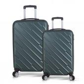 Bavyera Basic Abs Orta+Kabin Boy 2 li Set Valiz, Seyahat Çantası-11