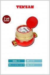 Teksan Sıcak Kısa Su Saati Su Sayacı 3 4