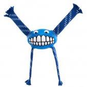 Rogz Köpek Sesli Oyuncak Flossy Grinz Mavi 24 Cm