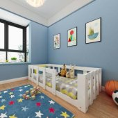 Montessori Karyola Beyaz Y10