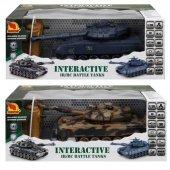 1:28 Interactive Uzaktan Kumandalı Tank-10