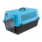 Ferplast Atlas 20 Kedi Köpek Taşıma Kutusu Mavi Azzurro