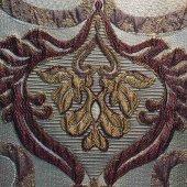 Perdelik, Döşemelik, Kırlent ve Yastık Kılıfı - Jakarlı Fantazi Çiçek Desenli ( Minimum 15 metre sipariş )-2