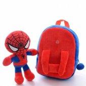 örümcek Spider Man Peluş Çıkarılabilir Figürlü...