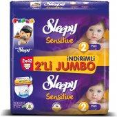Sleepy 2li Jumbo No:2 3-6Kg 84lü Sensitive Bebek Bezi