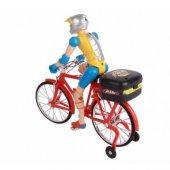 Pilli Adamlı Yarış Bisikleti Pilli Hareketli...
