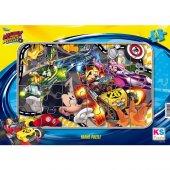 Disney Mickey Mouse Frame Puzzle (Yapboz) 24 Parça...