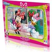 Disney Minnie Mouse Frame Puzzle (Yapboz) 24 Parça...