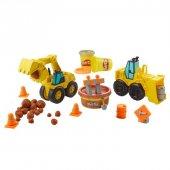 Play-Doh Çalışkan Buldozer ve Kepçe-3