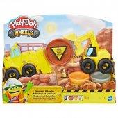 Play-Doh Çalışkan Buldozer ve Kepçe-4