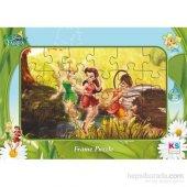 Disney Fairies Frame Puzzle (Yapboz) 24 Parça