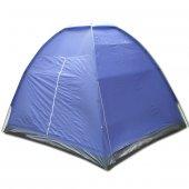 YS-127 7 P Koyu Mavi Dome Çadır (350*240*180 cm)