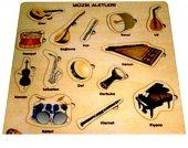 Dodo Ahşap Puzzle Müzik Aletleri