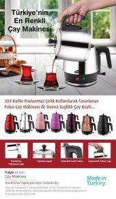 Goldmaster Fulya Kırmızı Çay Makinesi Gm 7320