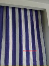 Balkon Perdesi Özel ölçüde Dikiş Yapılır Alt ve Yan Bağcıkları Dikilmiş Hazır (Max.2.70 Yükseklik)-7