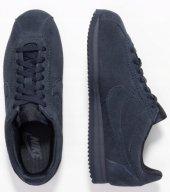 Nike Womens Classic Cortez Dark Obsidian Cd0607...