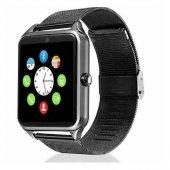 Z60 Paslanmaz Çelik Bluetooth Akıllı Saat...