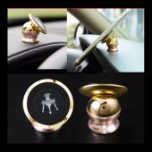 Carmaniaks Ferrari Uyumlu Mıknatıslı Gold Telefon Tutucu CRM5019-2