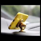 Carmaniaks Ferrari Uyumlu Mıknatıslı Gold Telefon Tutucu CRM5019-4