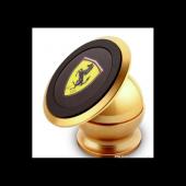 Carmaniaks Ferrari Uyumlu Mıknatıslı Gold Telefon Tutucu CRM5019-7