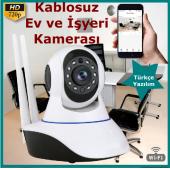 Kablosuz Ev Ve İşyeri Kamerası