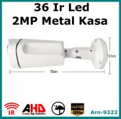 2 MP FULL HD 1080P Metal Kasa Güvenlik Kamerası Arna 9322-2