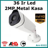 2 Mp Full Hd 1080p Metal Kasa Güvenlik Kamerası Arna 9322