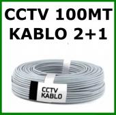 Cctv Kamera Kablosu 100 Mt (2+1 0,22mm)