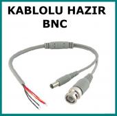 Hazır Bnc Kablo Power Jaklı