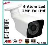 2mp 1080p Ahd Full Hd Güvenlik Kamerası (Ar 9230