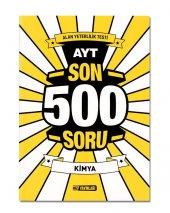 Ayt Kimya Son 500 Soru (Hız Yayınları)