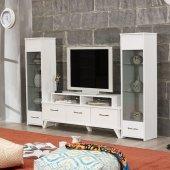 Tv Ünitesi Lcd Sehpası Beyaz Vm 441451
