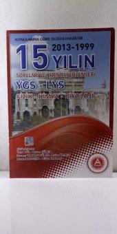 A Yayınları 15 Yılın Ygs Lys Fizik,kimya,biyoloji Soruları Ve Ayrıntılı Çözümleri Kolektif