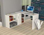 çalışma Masası Bilgisayar Masası Yağız 210 Cm