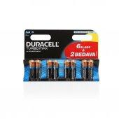 Duracell Turbo Max Aa 6+2 Kalem Pil 8li (12)