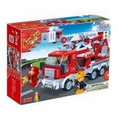 Lego Banbao 290 Parça İtfaiye-4