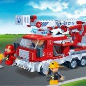 Lego Banbao 290 Parça İtfaiye-5