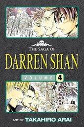 Vampire Mountain The Saga Of Darren Shan 4 Manga Edition