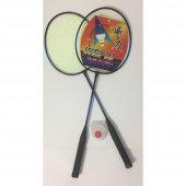 Badminton Raket Seti 2 Raket 1 Top