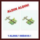 Kelebek Sürgü 5 Cm 1 Alana 1 Bedava