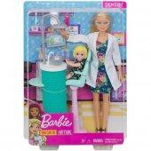 Barbie Ben Büyüyünce Oyun Seti Dişçi Dhb63...