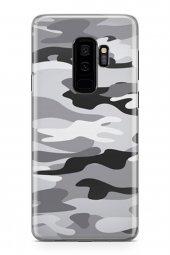 Samsung Galaxy S9 Plus Kılıf Kamuflaj Desenli Penelope