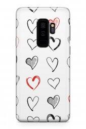 Samsung Galaxy S9 Plus Kılıf White Love