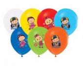 Balon 4+1 Pepee Baskılı Pastel 100 Adet